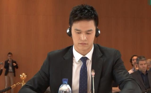 """孙杨事件现场视频真相曝光 在听证会上证明""""暴力抗检""""根本不存在"""