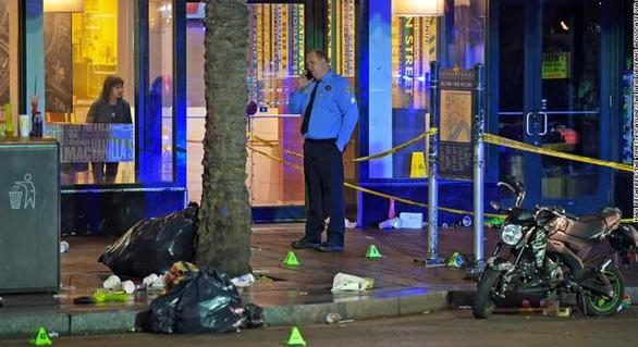 美国新奥尔良发生枪击案,至少11人被枪手击中