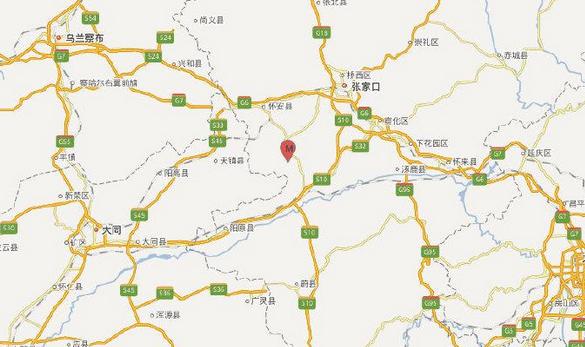 河北张家口连续发生两次地震,北京网友表示有震感
