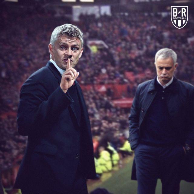 英超联赛,曼联2-1热刺,穆里尼奥复仇失败