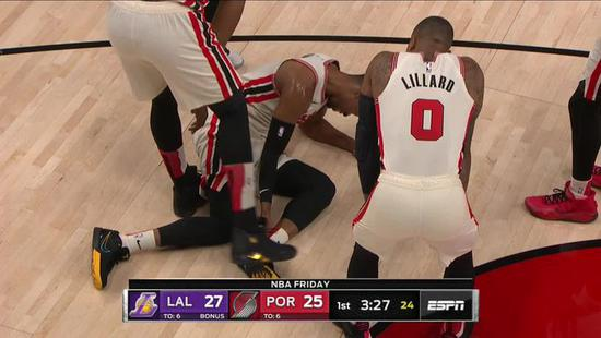 NBA常规赛开拓者胡德受伤最新消息 这个赛季不会回归