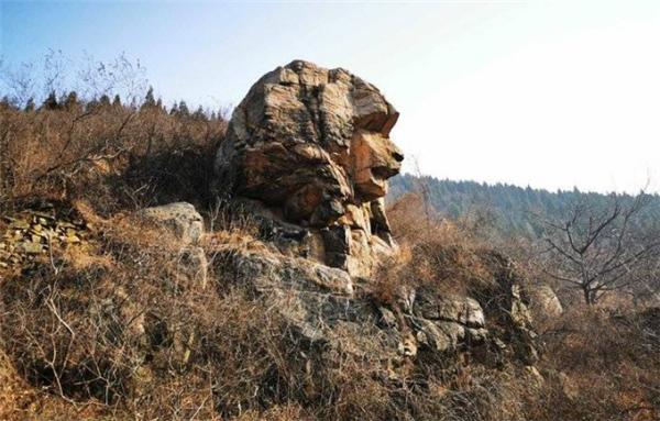 济南现狮身人面像,济南狮身人面像,狮身人面像