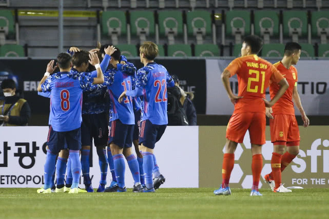 東亞杯國足1-2日本 國足已連續21年不敵日本隊