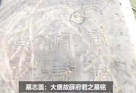太平公主驸马薛绍墓被发现,早在唐朝时期就遭到人为破坏