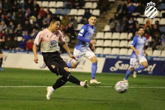 国王杯武磊梅开二度 西班牙人2-0莱里达体育晋级第二轮