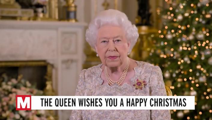 """英国女王圣诞致辞:2019年太""""坎坷""""了"""
