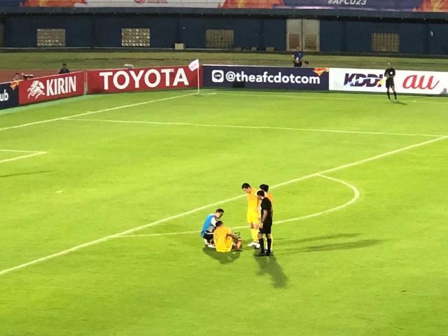 亚洲杯张玉宁伤退 国奥遭韩国绝杀0比1输掉首场