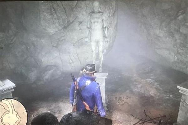 荒野大镖客2奇怪的雕像按错了怎么办_荒野大镖客2奇怪的雕像顺序攻略