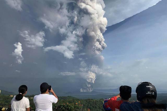 菲律宾火山喷发,菲律宾火山,菲律宾火山爆发