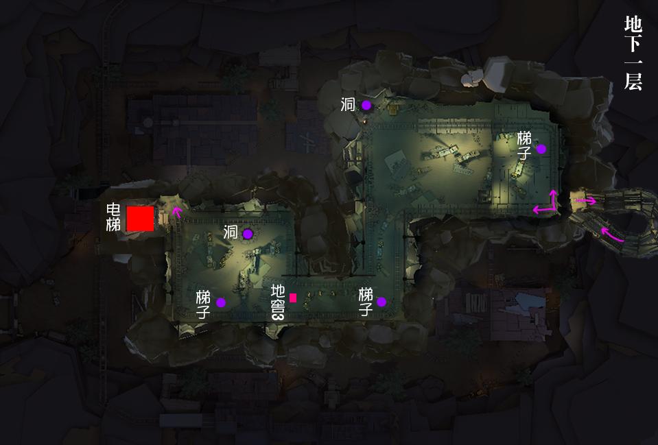 第五人格闪金石窟,第五人格闪金石窟怎么玩,第五人格闪金石窟平面图
