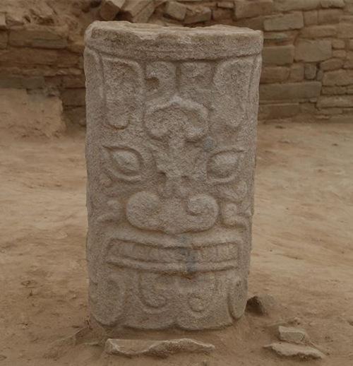 陕西发现遗址石雕 不晚于公元前2000年左右