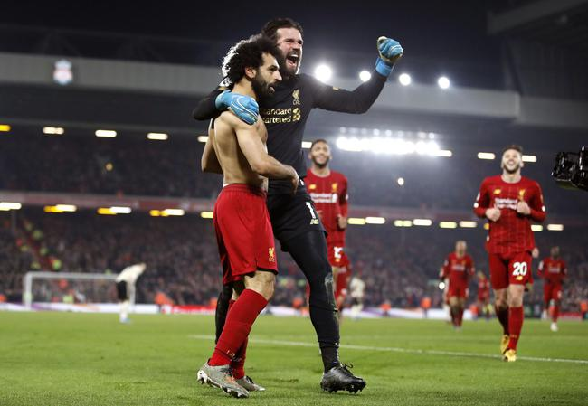 【英超】利物浦2-0曼联夺得13连胜 领先16分领跑2019/20赛季