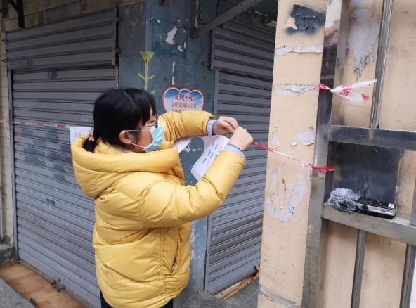 武汉小区封闭管理,最大限度减少人员流动