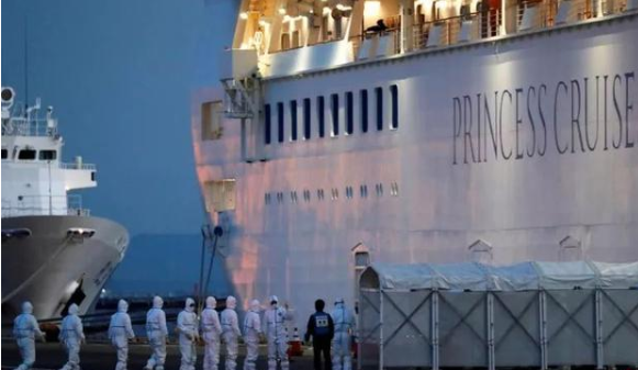 日本钻石公主号邮轮确诊174例,其中包括一名检疫人员
