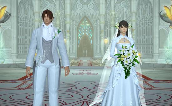 《最终幻想14》更新:婚礼礼服不再限制性别