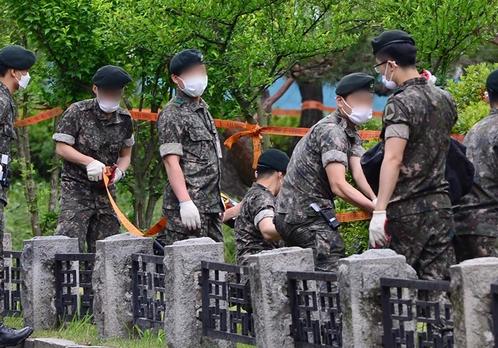 韩国11名军人确诊新冠肺炎 军中7700人被隔离观察