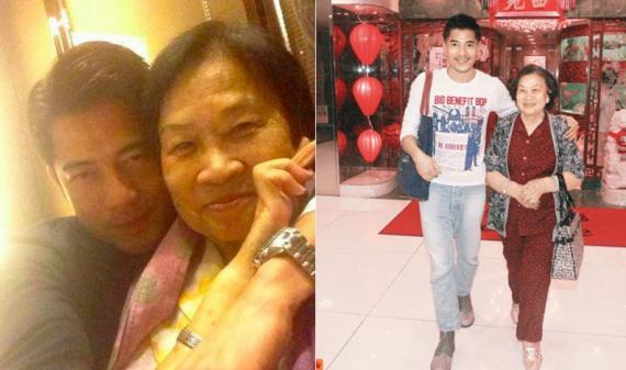 郭富城母亲去世 刘嘉玲:他可能是为了母亲而结婚生孩子