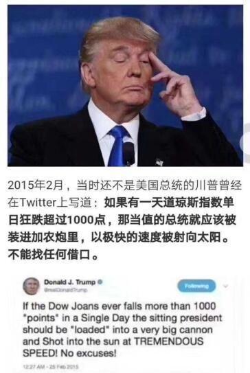 美股大跌,道琼斯工业指数,道指大跌