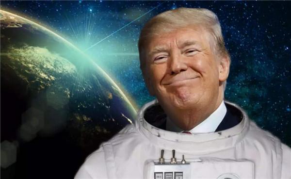 请愿送特朗普上太空,美国网友请愿送特朗普上太空,送特朗普去太空