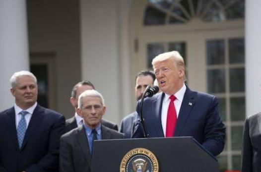 特朗普称战时总统,特朗普自称战时总统,特朗普战时总统