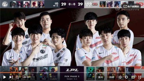 英雄联盟2020LPL春赛季3月19日IG vs LGD比赛回顾图文介绍