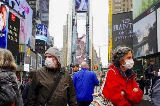 哥伦比亚大学研究团队发出警告,如果不加防控美国或1天暴增50万确诊病例