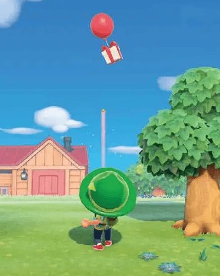 动物之森气球礼物,动物之森气球礼物怎么拿,动物之森气球礼物获取方法