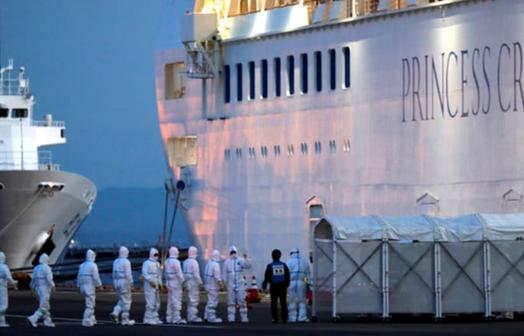 乘客全部撤离钻石公主号邮轮后,新冠病毒仍可在船舱中存活17天