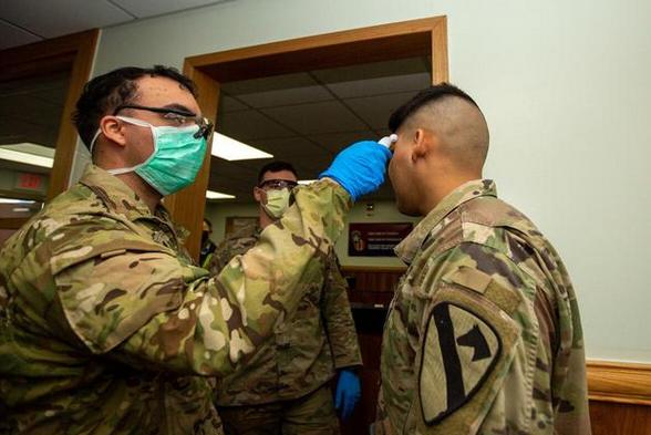 美军新冠确诊人数不再公布,理由是担心信息被对手利用
