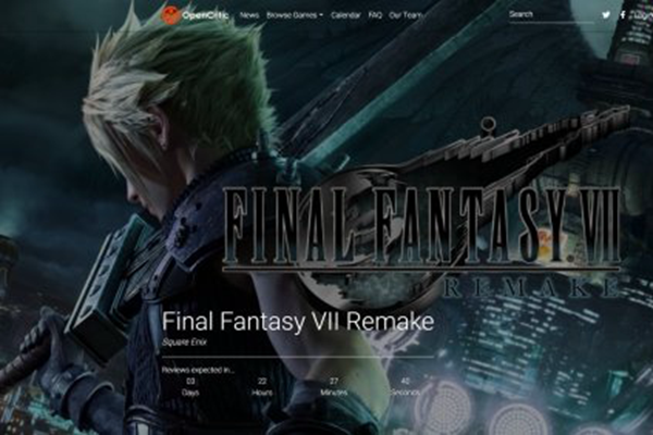 最终幻想7:重制版将在4月6号晚上6点正式解评