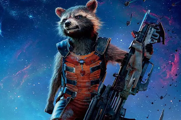 浣熊火箭,银河护卫队3