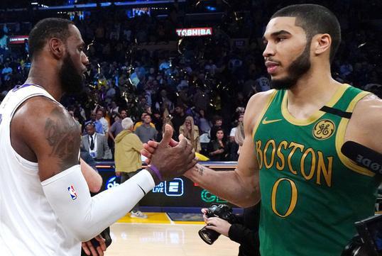 NBA现在谁最厉害?塔图姆谈现役NBA最佳阵容:詹姆斯仍是头号球员