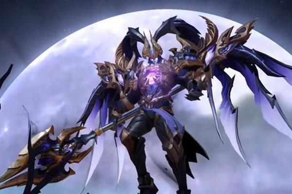 王者荣耀吕布天魔缭乱返场,增加360度全屏背景