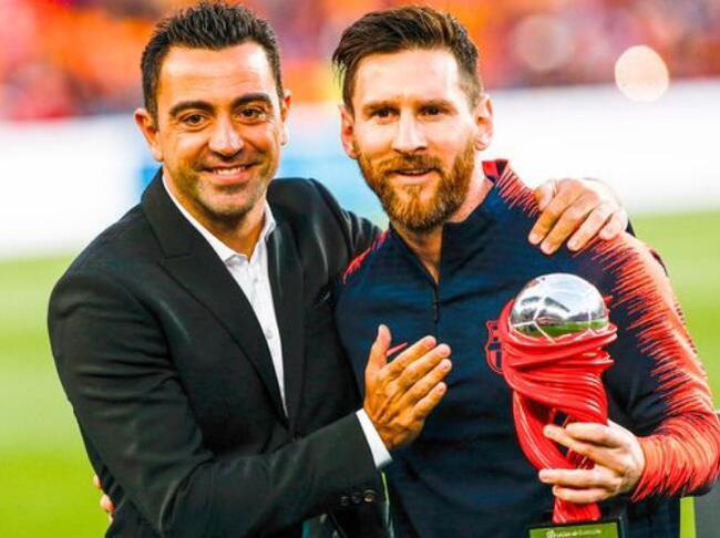 哈维谈梅西:他至少还能火六七年 肯定会参加2022世界杯