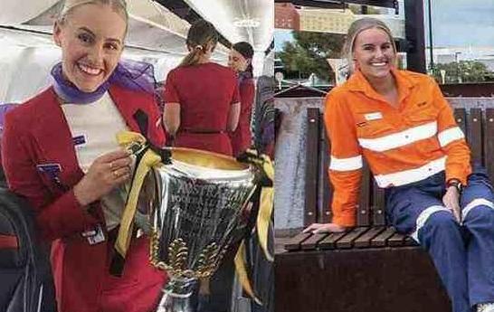 疫情致航空公司破产,澳大利亚空姐转行当矿工