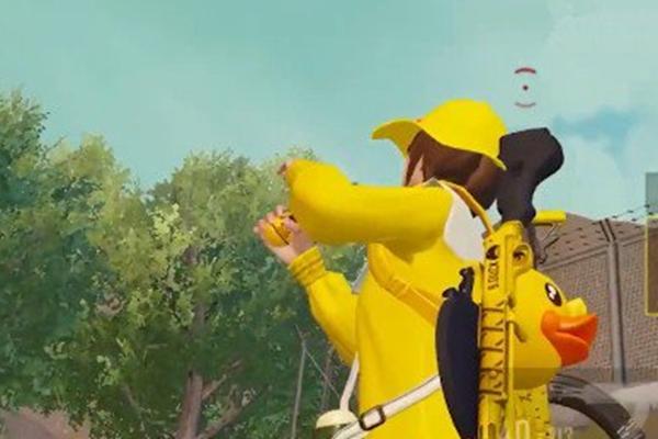 和平精英小黄鸭手雷怎么发射,和平精英小黄鸭手雷,和平精英小黄鸭手雷发射攻略