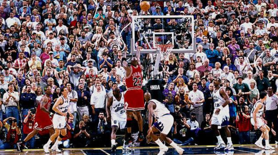 NBA季后赛史上极具争议的5场比赛 乔丹科比均在其中