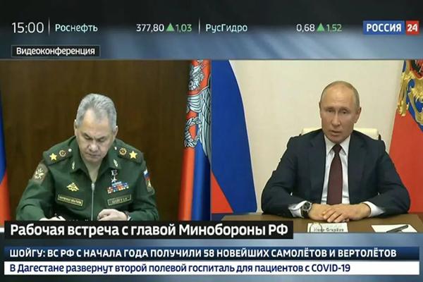 俄罗斯的疫情逐渐呈现爬坡趋 普京宣布红场阅兵