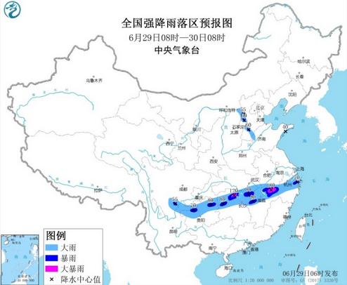 中央气象台连发27天暴雨预警,持续时间之长历史罕见