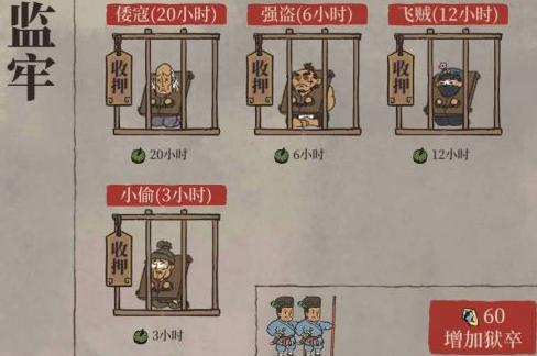 江南百景图监牢配几个狱卒_监牢配置推荐