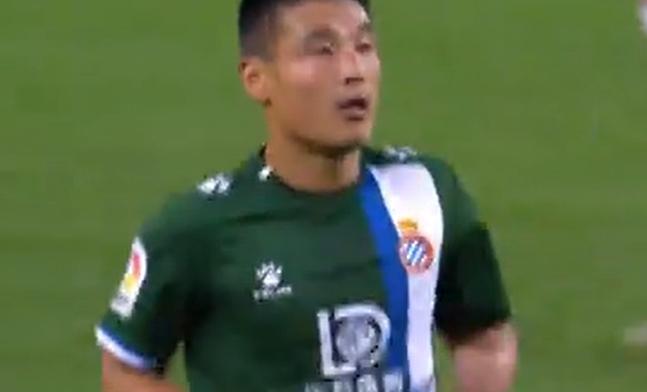 西甲-武磊替补出场 西班牙人客场遭逆转1-2皇家社会仍垫底