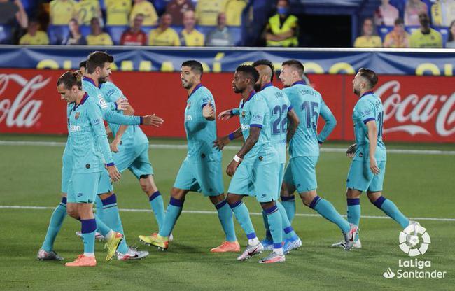 西甲-梅西2助攻苏神格子进球 法蒂破门 巴萨4-1胜比利亚雷亚尔