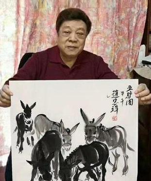 曝赵忠�祥离世后作品从90万跌价至688元,昔犀利日作品暴跌是为何?