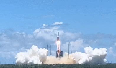 天问一号火星探测器发生成功,中国火星探测之旅正式启程