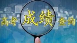 2020高考成绩开始放而稻川会榜,部分省份已经可以开始查询成绩
