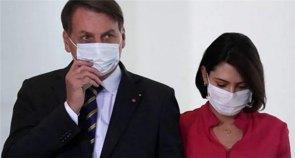 巴西第一夫人感染新冠,总统博索纳罗此前才刚宣布治愈