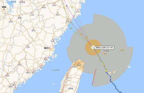 4号台风即将登陆,福建浙江相继发布台风预警