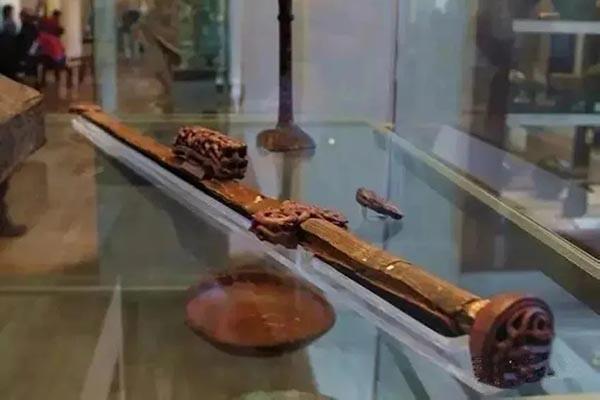 唯一现存完整的汉剑櫑具剑,堪称国宝级藏品