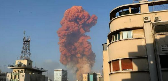 黎巴嫩大爆炸致30万人无家可归,接近首都中人口的五分之一