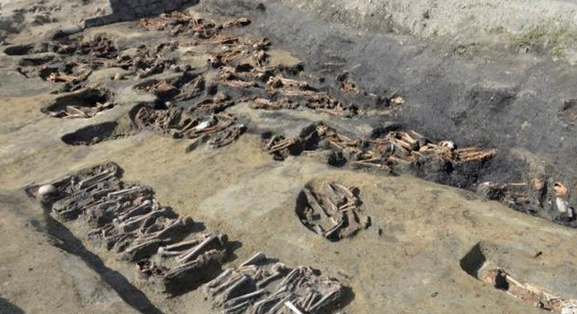 日本大阪挖出1500余具人骨,或因大规模瘟疫被集体掩埋